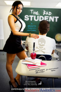 "Audrey Bitoni, Xander Corvus In My First Sex Teacher – ""The Bad Student"""