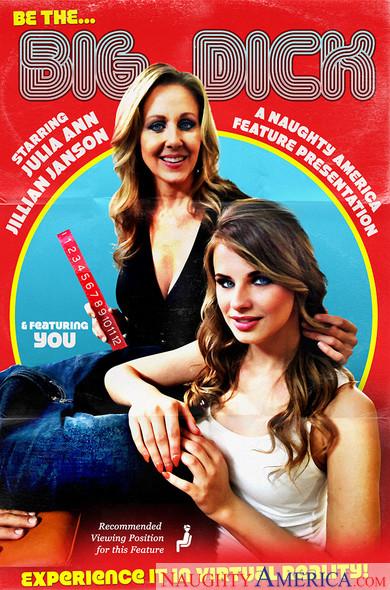 "Jillian Janson, Julia Ann, Chad White In My First Sex Teacher – ""Be The BIG DICK!"""