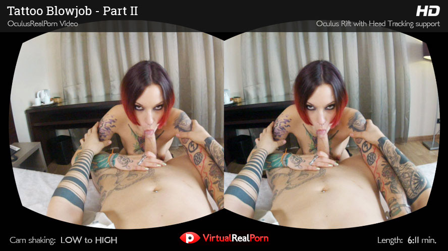 Tatoo Blowjob – Part II