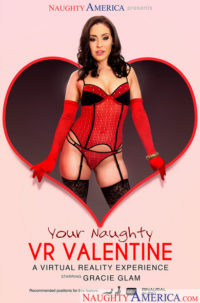 Gracie Glam In Your Naughty VR Valentine