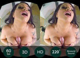 Big Booty Sex in the Champagne Room VR Porn