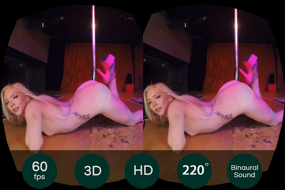 Private Dancer: Heather Heavens VR Porn