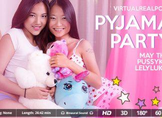 Pyjama Party VR Porn