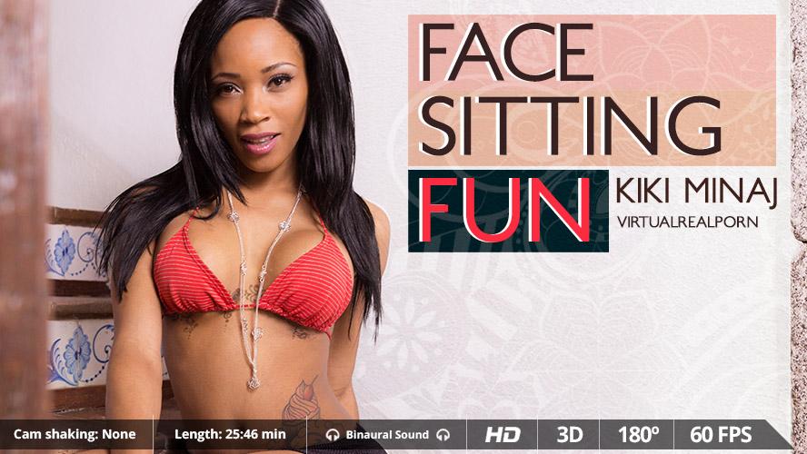 Face Sitting Fun VR Porn