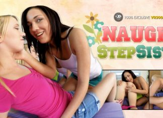 Naughty Step Sisters VR Porn