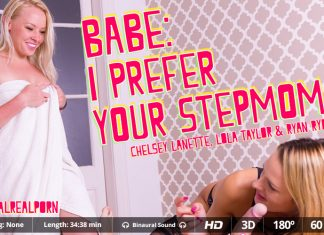 Babe: I prefer your stepmom VR Porn