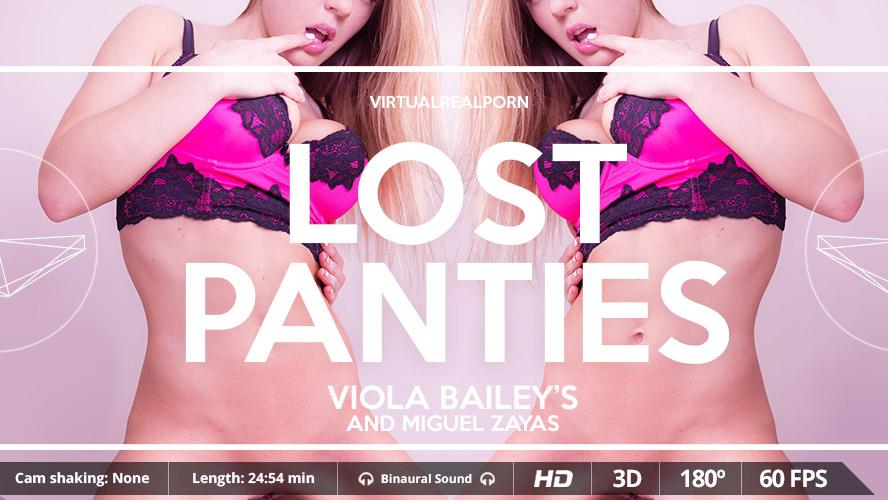 Lost Panties VR Porn