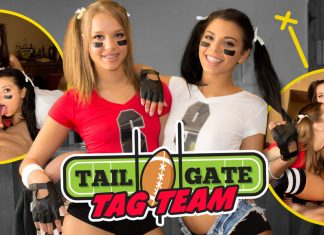 Tailgate Tag Team VR Porn
