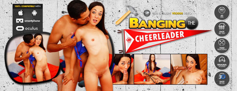 Banging the Cheerleader VR Porn