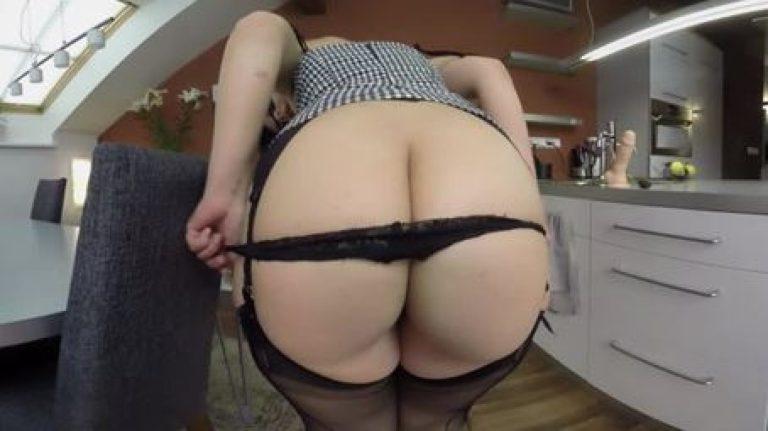 Big Ass Black Panty Tease VR Porn