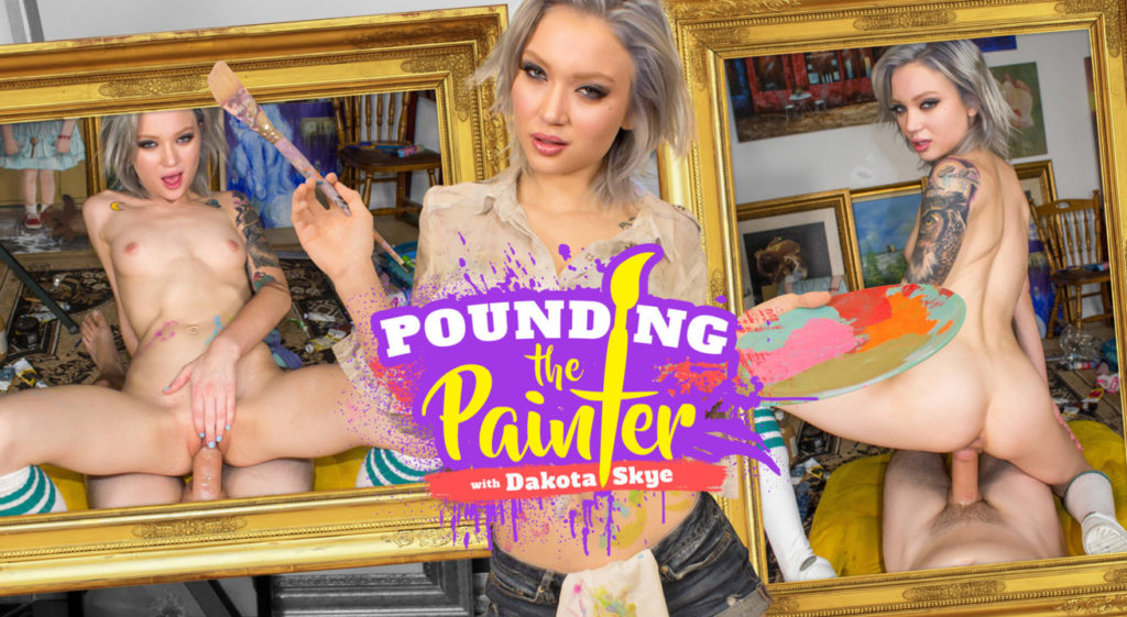 Pounding the Painter VR Porn