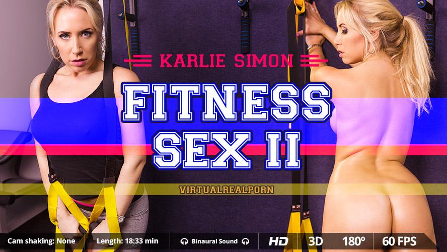 Fitness Sex II VR Porn