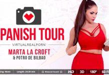 Spanish tour VR Porn