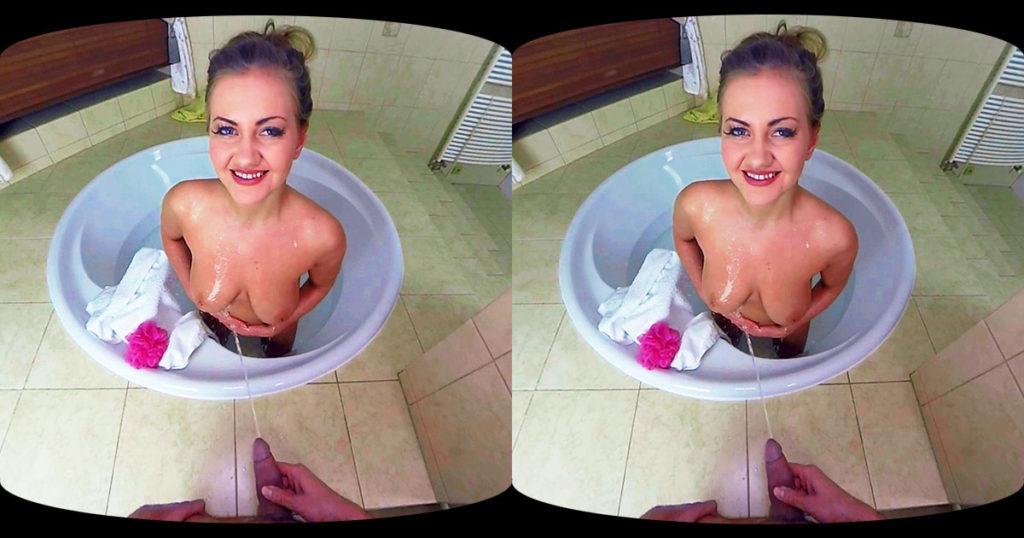 Gabriella Daniels Pissing VR Porn