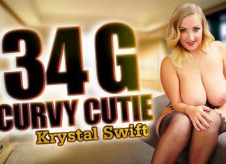 34 G Curvy Cutie with Krystal Swift VR Porn