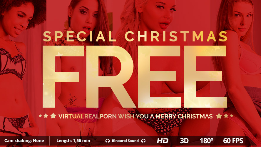 Christmas Special FREE VR Porn video!