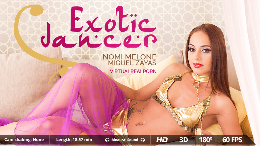 Exotic dancer VR Porn