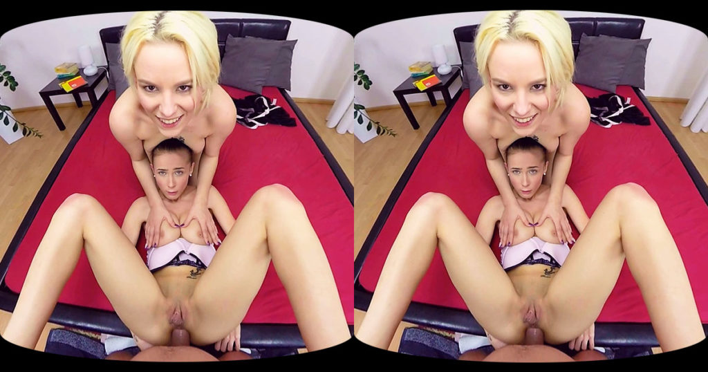 Nicole Love & Lucy Shine - Hardcore & Anal VR Porn