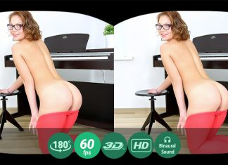 A hot fairy masturbates during a piano lesson VR Porn