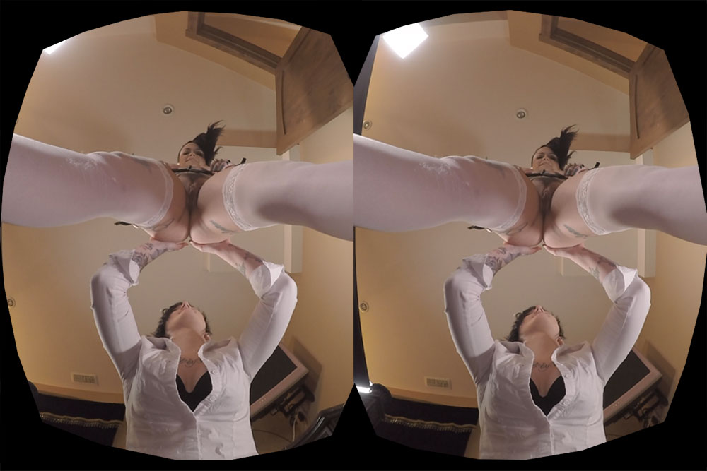 Double Upskirt: I Hearts Raven VR Porn