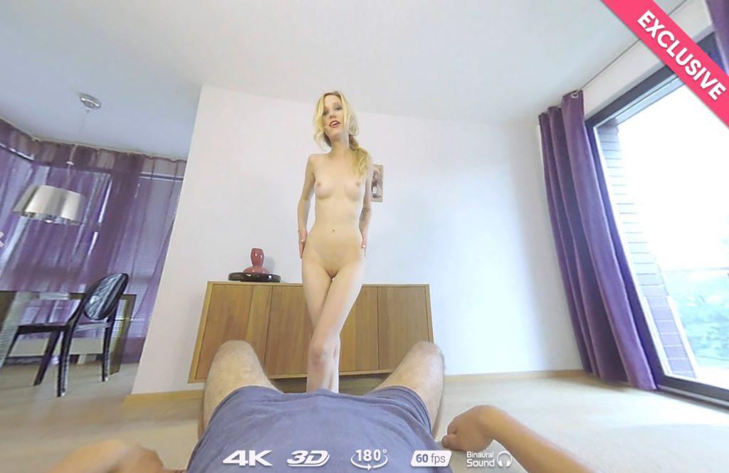 Sweet Skinny Rider VR Porn