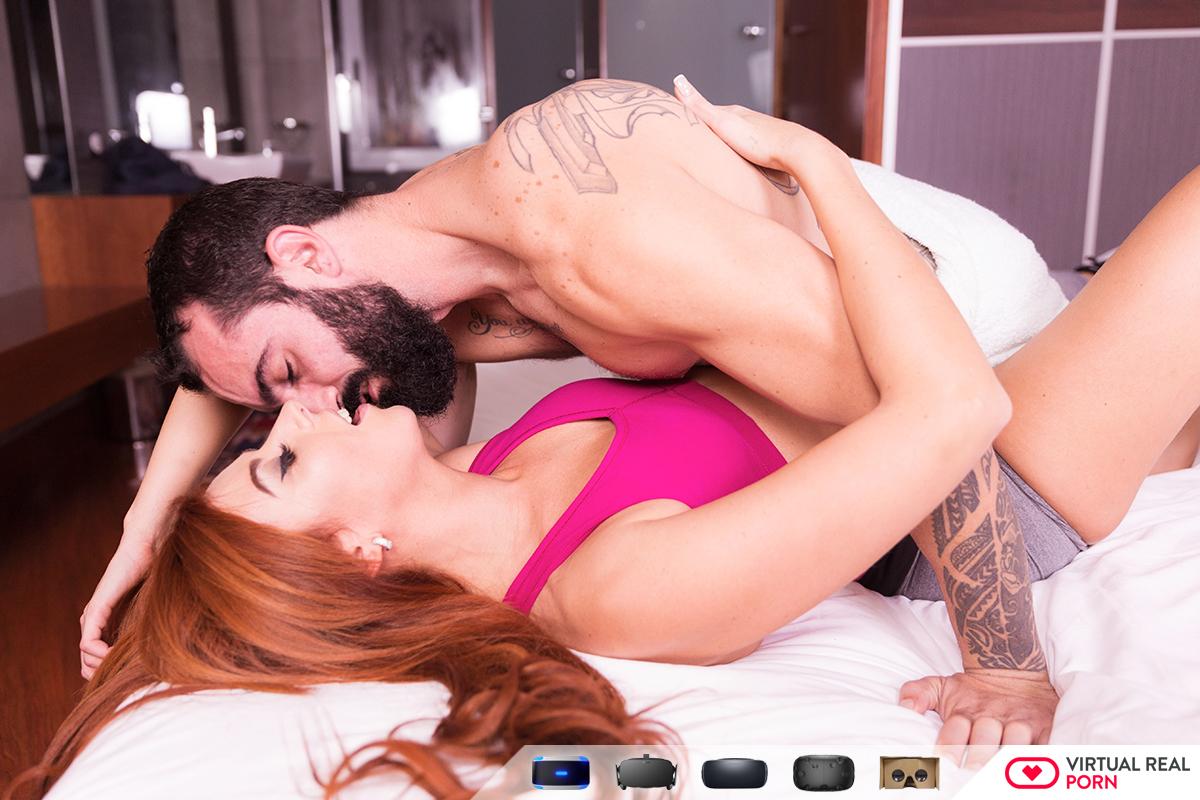 Sexy runner VR Porn