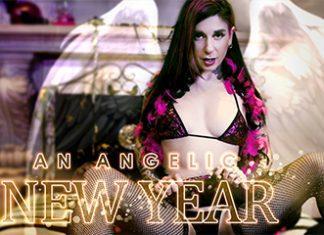 An Angelic New Year VR Porn
