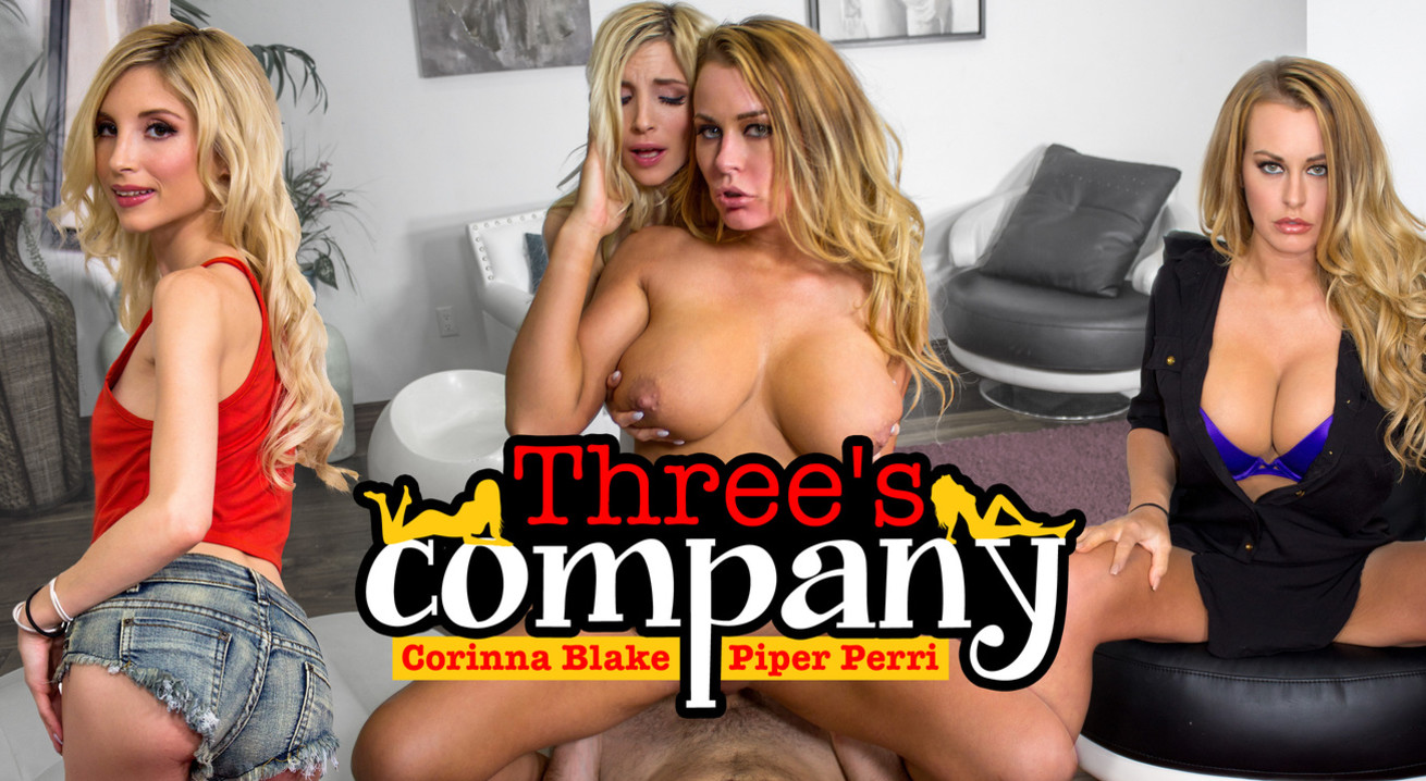 Three's Company VR Porn