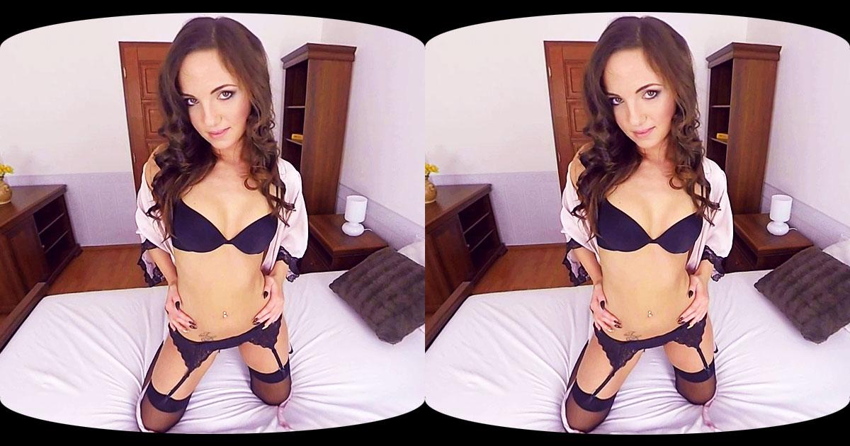 Kristy Black DP Dildo VR Porn