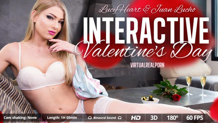Interactive Valentine's day VR Porn