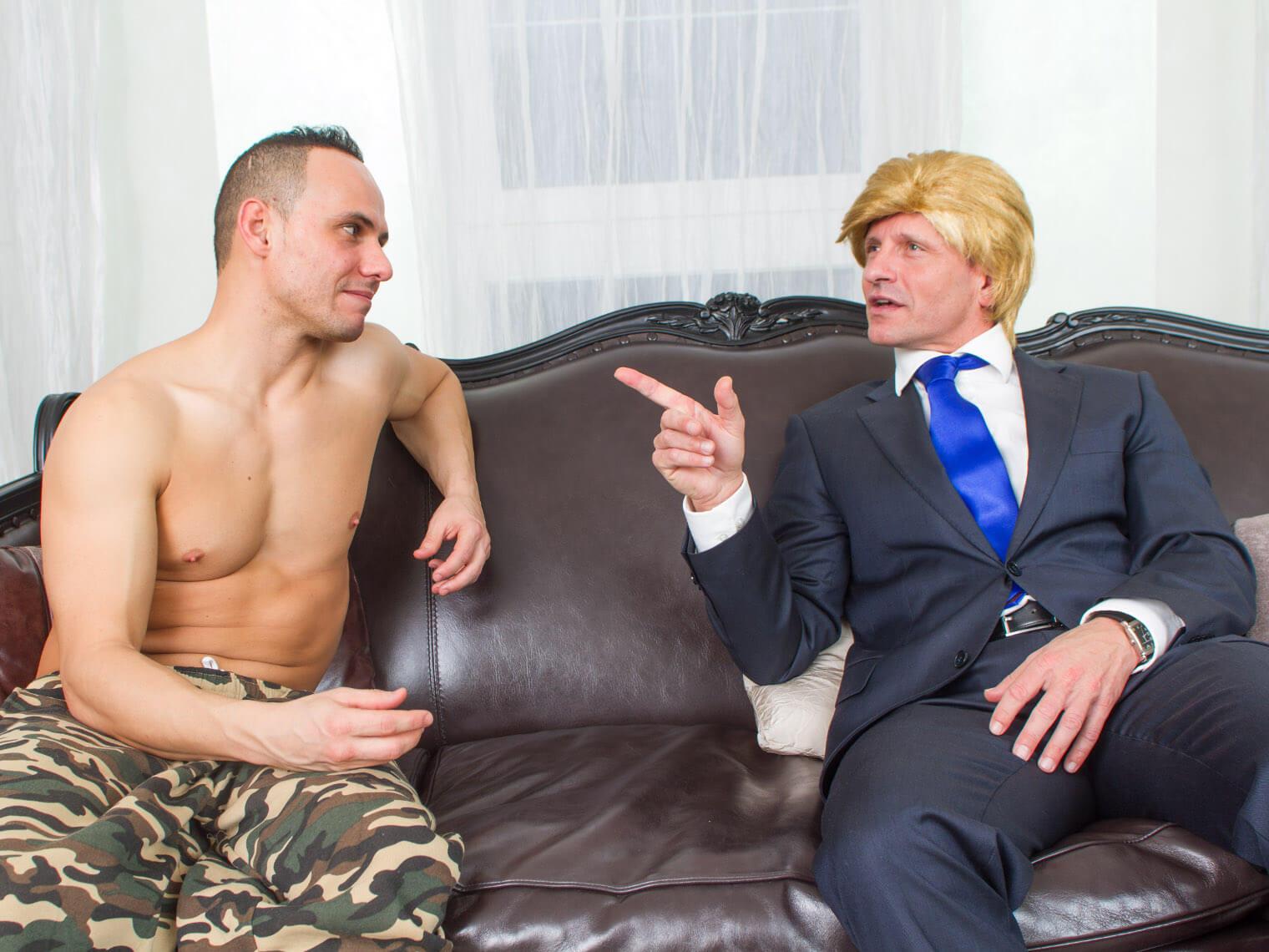 "Vladimir ""The Impaler"" Putin nails Melania VR Porn"