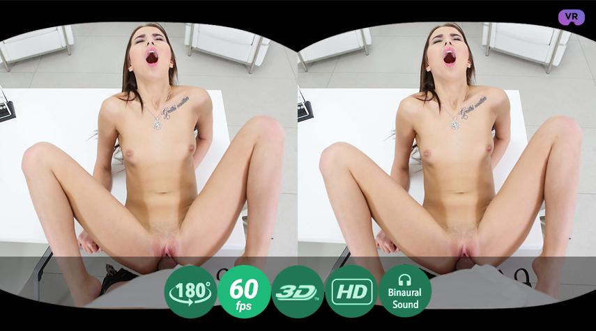 Tattooed Goddess Fucks Her Boss Hard VR Porn