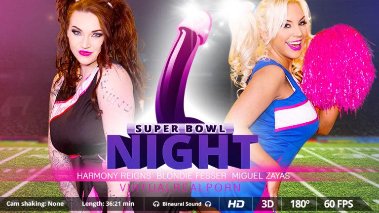 Super Bowl night