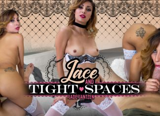 Lace & Tight Spaces VR Porn