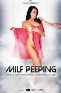 Reagan Foxx in Milf Peeping