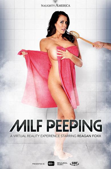 Reagan Foxx in Milf Peeping VR Porn