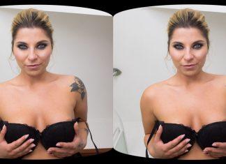 Get pissed on by Kattie Hill VR Porn