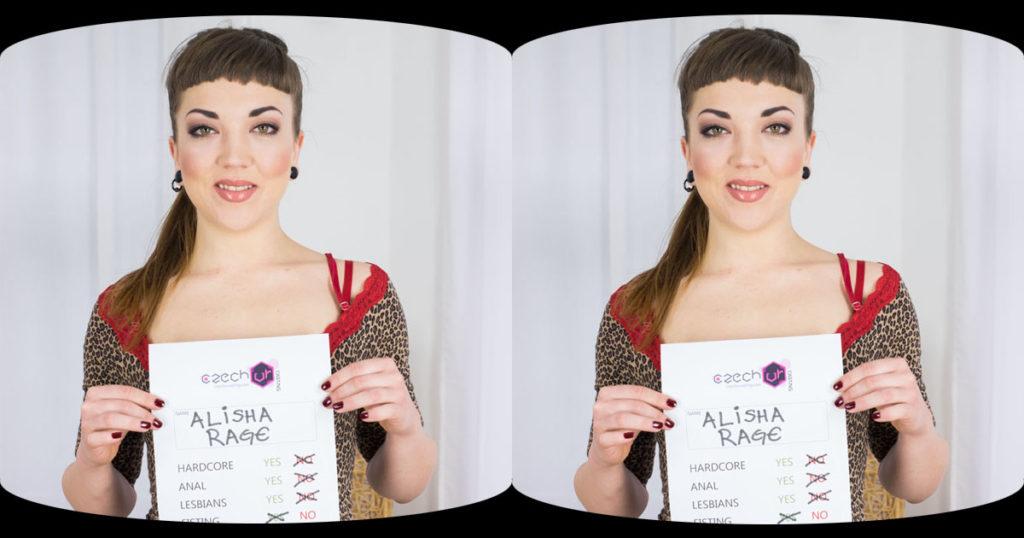 Alisha Rage Casting VR Porn