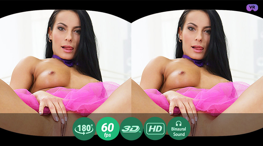 Hottie's usual morning VR Porn