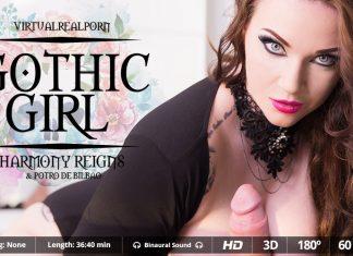 Gothic Girl VR Porn