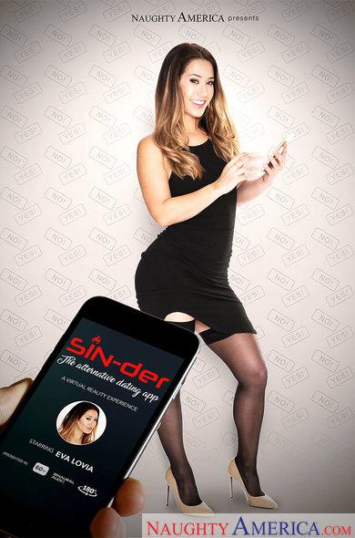 Eva Lovia in SIN-der - the alternative dating app VR Porn