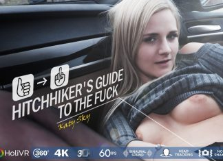 Hitchhiker's guide to the fuck VR Porn