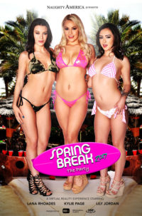 "Lana Rhoades, Kylie Page, Lily Jordan in ""Spring Break 2017 – The Party"""
