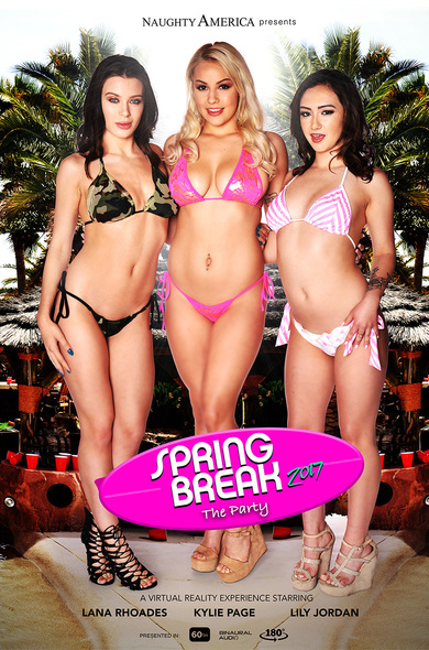 "Lana Rhoades, Kylie Page, Lily Jordan in ""Spring Break 2017 - The Party"""