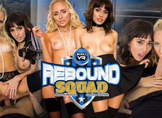 WankzVR Rebound Squad VR Porn