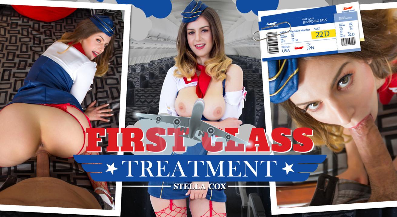 First Class Treatment VR Porn
