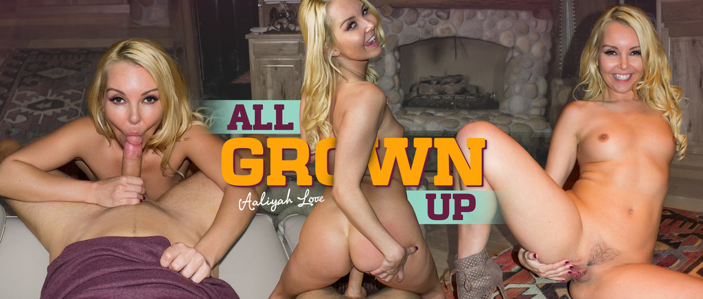 All Grown Up VR Porn