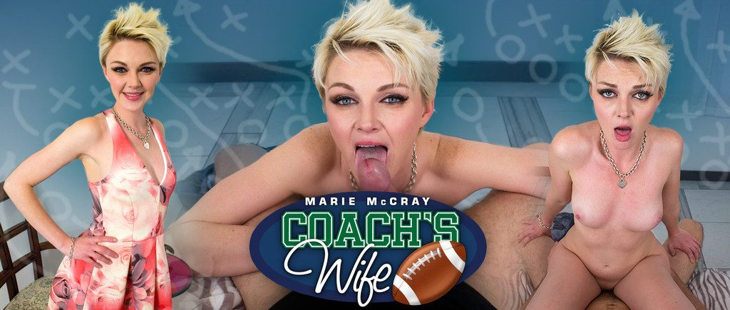 Coach's Wife VR Porn