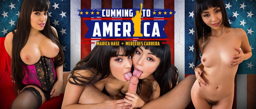 Cumming to America VR Porn