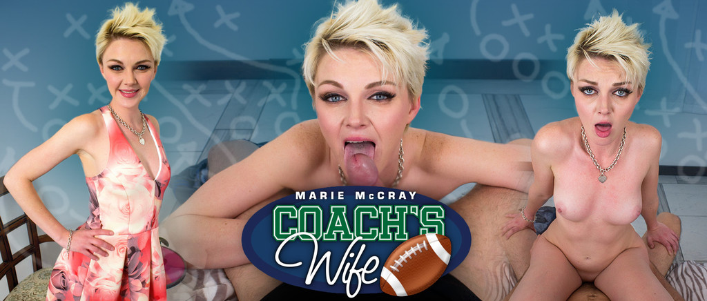 Coach's Wife VR Porn